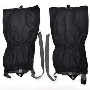 Waterproof-Outdoor-Climbing-Hiking-Snow-Ski-Shoe-Leg-Cover-Boot-Legging-Gai-ZW