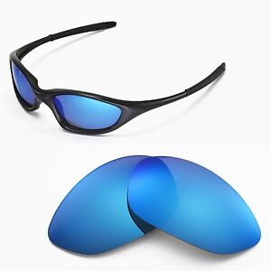 oakley blue  New Walleva Polarized Ice Blue Lenses For Oakley XX/Old Twenty