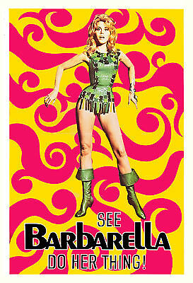 2 Barbarella , Affair in Trinidad & Australian Halloween Posters Plus FREE Ship
