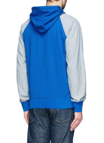 con e blu Italy Orange Jacobs lino cotone in Made Felpa Marc cappuccio Bnwt in dwSXggq