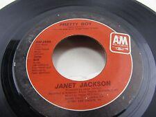 "JANET JACKSON When I Think Of You / Pretty Boy  7"" vinyl Record  AM-2855"
