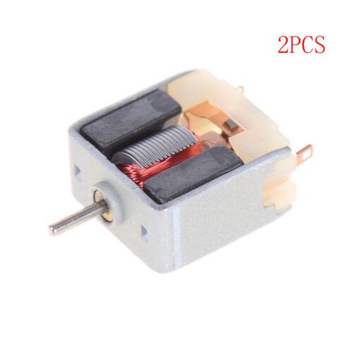 2pcs DC3V 6200RPM High Speed Mini 020 Motor For Hobby Toy Model DIY @SP