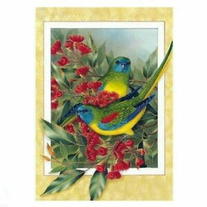 5D-Full-Drill-Green-Bird-Diamond-Painting-Embroidery-Cross-Stitch-Kits-Decors