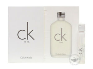 Perfume-Vials-Trial-Size-CK-One-by-Calvin-Klein-1-2ml-Edt-Spray-x-2-units