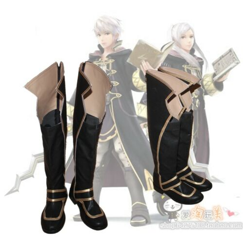 Awakening Robin Boot Party Shoes Cosplay Boots New Fire Emblem