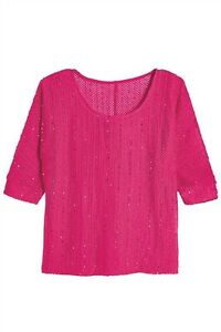 NEXT SEQUIN TEE BLUSH /& BROWN SIZE 8 BNWT RRP £20