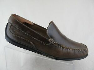 3cdb88eb34c2 ECCO Driving Moccasin Brown Sz 10.5 (44 EU) Men Loafers