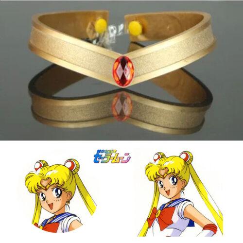 Anime Sailor Moon Tsukino Usagi Cosplay Prop Accessory Tiara Headwear Headband