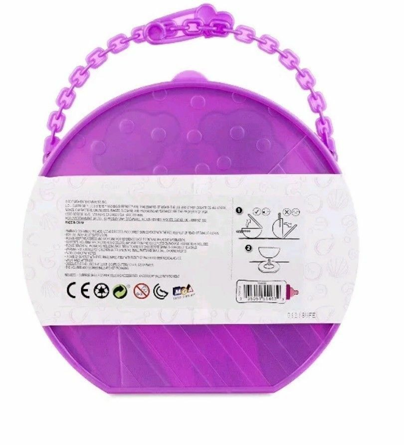 LOL SURPRISE  PEARL SURPRISE - PURPLE WAVE 2 - - - Limited Edition Mermaid Ball REAL a8e360