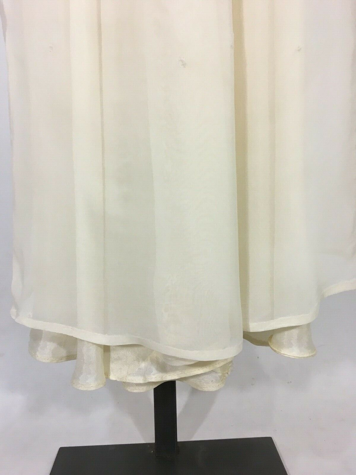 Vintage 1930's Pink-Ivory Silk PRINCESS gown dres… - image 11