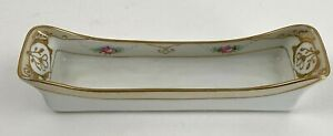 Antique-1910s-Beautiful-Nippon-Spoon-Rest-W-Gold-Moriage-Accents-Eyeglass-Holder
