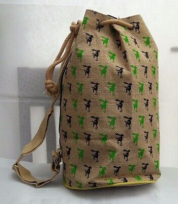 Jute Monkey Bag