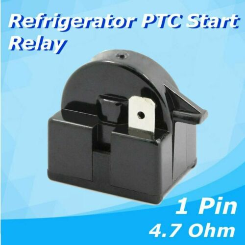 QP2-4R7 Start Relay Refrigerator PTC for 4.7 Ohm 1 Pin Vissani Danby Compressor