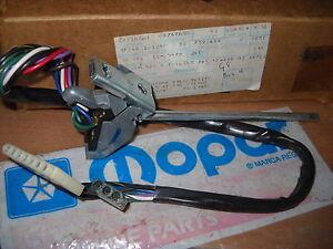 NOS-MOPAR-1980-WIPER-SWITCH-WITH-INTERMITTANT-WIPERS-ASPEN-VOLARE-LEBARON