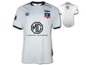 Umbro-CSD-Colo-Colo-Home-Shirt-20-21-weiss-Fussballtrikot-Jersey-Chile-Liga-S-XXL