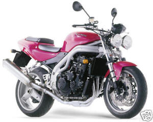 Triumph Touch Up Paint Nuclear Red Speed Triple 955 Ebay