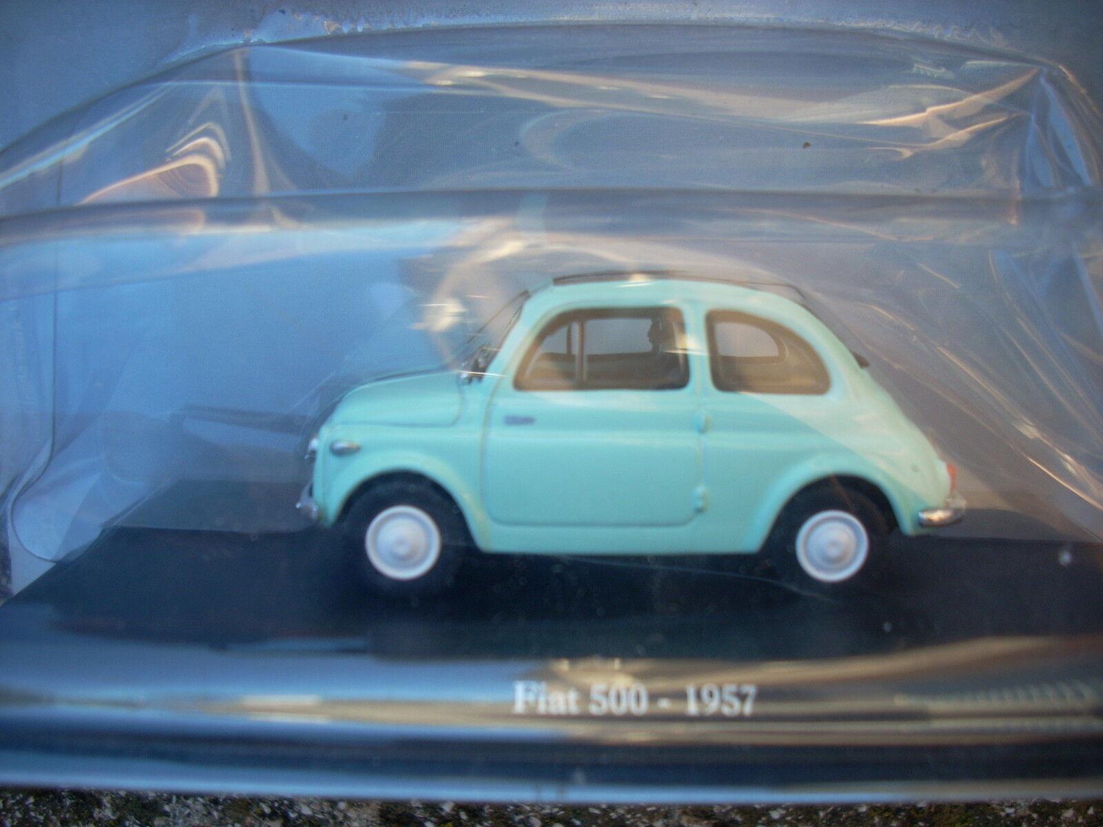 FIAT 500-1957 HACHETTE HACHETTE HACHETTE ESCALA 1 43  promociones