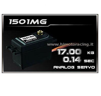 HD-1501 Servo Analogico Power HD 17Kg Ingranaggi Metallo//SERVO ANALOGIC POWER HD