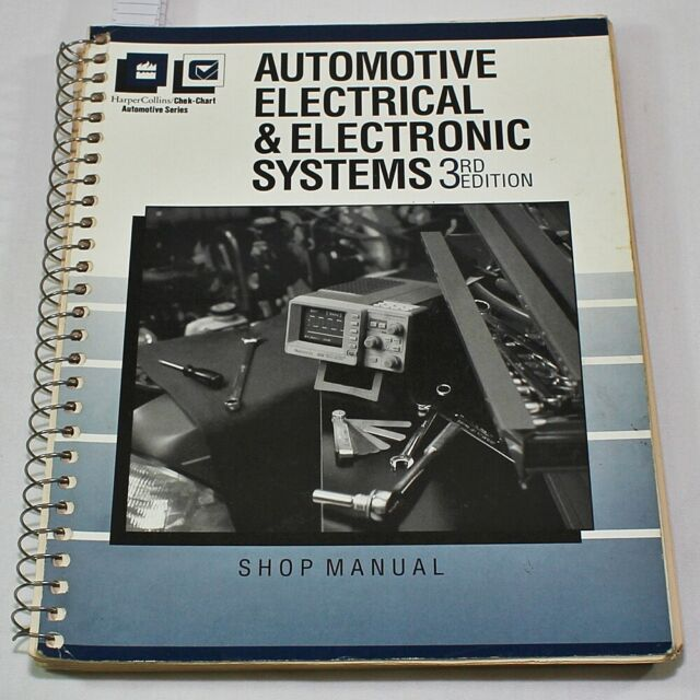 Automotive Electrical & Electronic Systems 3rd Edition Shop Manual