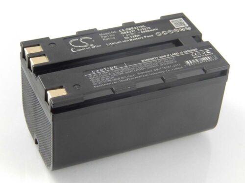 original vhbw® Akku 6800mAh 7.2V 7.4V für Leica ATX1200 GRX1200 GPS1200