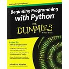 Beginning Programming with Python for Dummies by John Paul Mueller (Paperback, 2014)