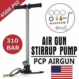 Details about   3 Stage Stirrup Charger PCP Hand Pump Air Gun Rifle Airrifle Gas