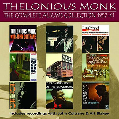Complete Albums Collection: 1957-1961 by MONK,THELONIOUS