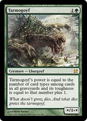 TARMOGOYF Moderna mästjärnae 2013 MTG grön Creature 65533;65533; Lhurgoyf MYTHIC RARE