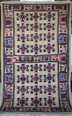 2/'2 x 2/'11 Feet Handmade Afghan Tribal Baluch Vintage rug SIZE Home Decor Rug.