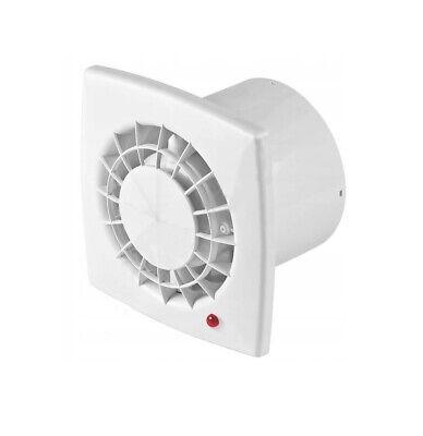 12v Ac Bathroom Extractor Fan 100mm White Low Energy Power Ventilator Ebay