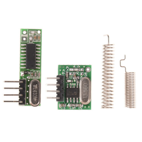 RF module 433Mhz superheterodyne receiver and transmitter kit For arduino Kr