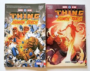 Marvel-2-In-One-Vol-1-Fate-of-Four-2-Next-Kin-Marvel-Graphic-Novel-Comic-Book
