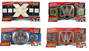 WWE Belts - Mattel - Brand New - Sealed