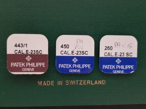 E-23SC movement parts new old stock PATEK PHILIPPE cal