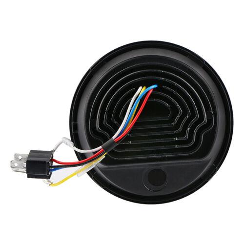 """5.75/"""" 50WCREE LED Projektion Scheinwerfer Hi//Low Beam für Harley"""