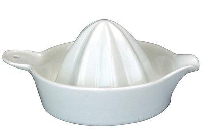 High Quality Apollo  White Ceramic Lemon Lime Fruit Squeezer