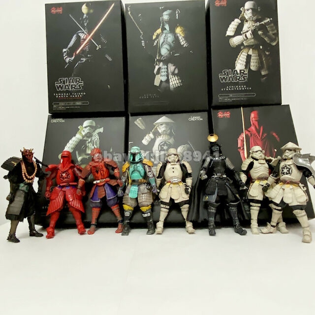 "2019 Hot Sale Star Wars Movie Realization  Japanese Samurai  Action Figure 7/""New"