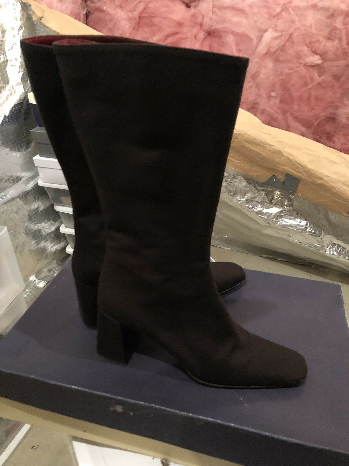 Ann Taylor Espresso Brown Boots Size 9 Pre Owned  Or  Better Offer