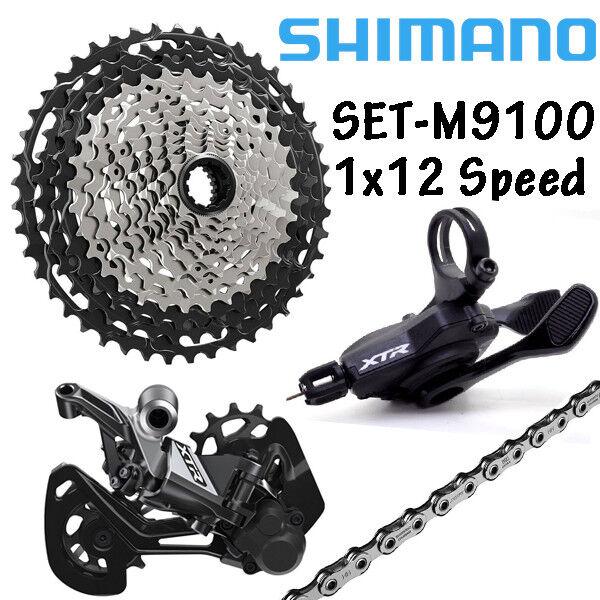 NEW  Shimano XTR M9100  1x12 Speed GroupSet Derailleur Shifter Cassette Chain MTB  unique design