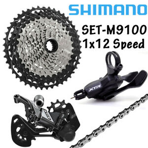 c2603177d69 Image is loading Shimano-XTR-M9100-1x12-Speed-GroupSet-Derailleur-Shifter-
