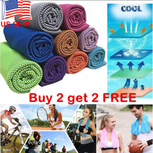 US-Instant-Ice-Cooling-Towel-Reusable-Chill-forRunning-Workout-Fitness-Gym-Yoga