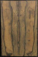 Ziricote x Knife Scales x Cut Slab x Rare x With Mostly Landscape Figured ZIKS3