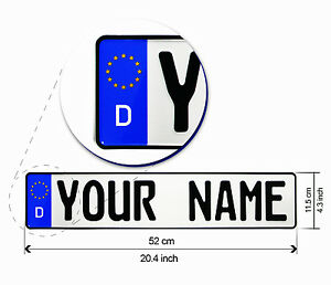 Original-German-License-Plate-Personalised-Number-Plates-With-Your-Name-Text