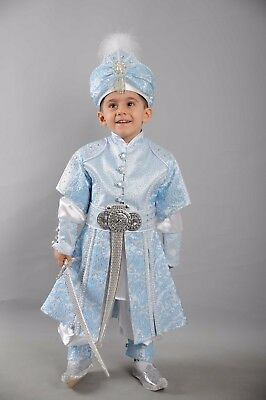 S/ünnet Kiyafeti Beschneidungsanzug Beschneidungskleid Masallah Nazar