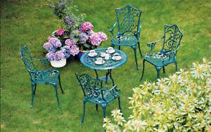 Das Bild Wird Geladen Sitzgruppe Gartenset Gartenmoebel  Gartengarnitur LUGANO 5 Teilig Alu