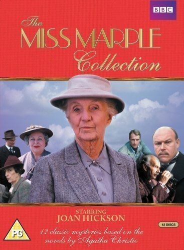 1 of 1 - Miss Marple Complete Series DVD Box Set All 12 Movies Joan Hickson New Original