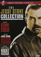 Jesse Stone (stone Cold / Death In Paradise / Night Passage) ( Dvd 3-disc Set)