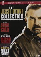 Jesse Stone (stone Cold / Death In Paradise / Night Passage) ( Dvd 3-disc Set)