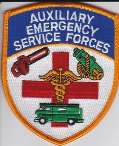 NYPD  Auxiliary STU, Emergency Service Forces, Patrol Support  -  4 Patch Set -