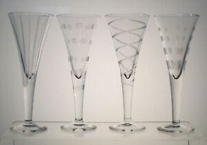 CHEERS-MIKASA-Liqueur-Cordials-6-034-SET-of-FOUR